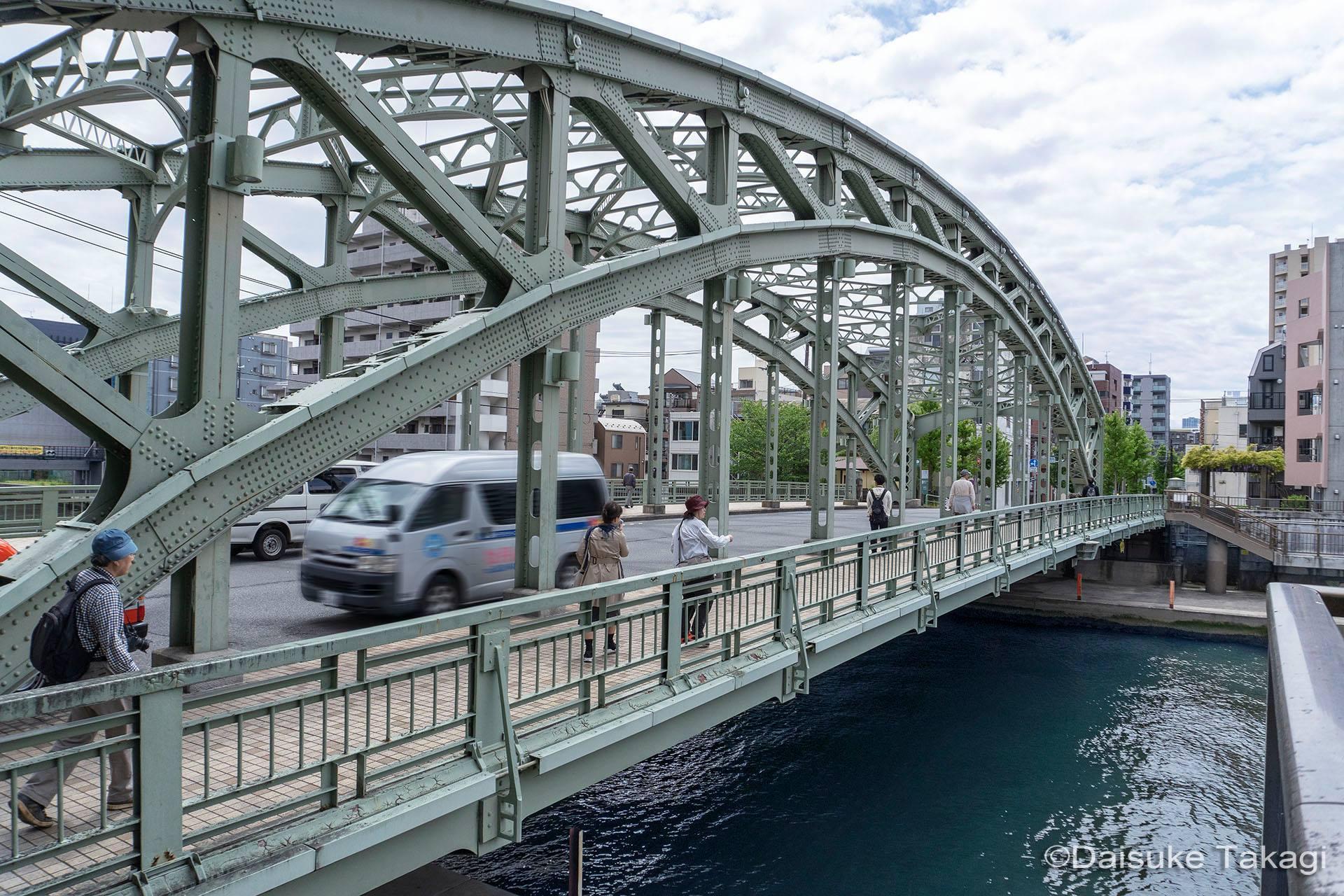 江東区の橋 デジタブル撮影行